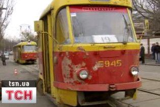 У Миколаєві дощенту згорів трамвай