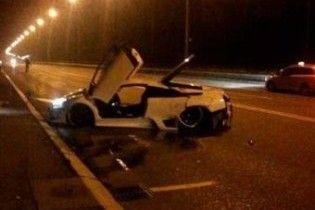 Росіянин розбив Lamborghini у перегонах з Porsche і Bugatti