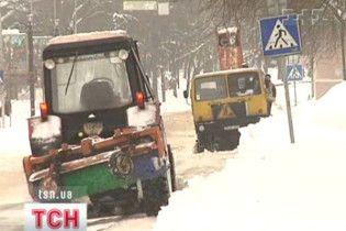 В Україні через негоду знеструмлені 244 населені пункти