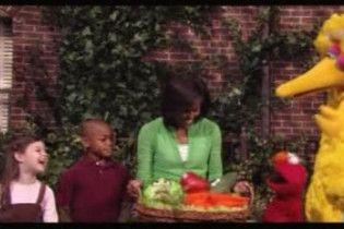 """Мішель Обама знялась у ювілейній дитячій програмі """"Вулиця Сезам"""""""
