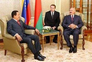 "Чавес запропонував Лукашенкові створити новий ""союз нерушимый республик свободных"""