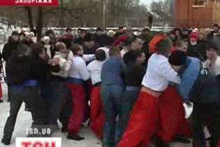 На Запоріжжі відсвяткували Різдво за козацькими традиціями