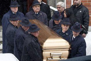 Сина ватажка канадської мафії поховали в золотій труні