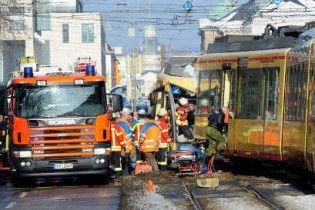 У Німеччині зіткнулися два трамваї: 27 постраждалих