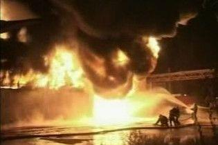 Бухарест затягнуло отруйним димом від пожежі на складі отрутохімікатів