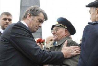 День визволення України від фашистів відсвяткували без Ющенка