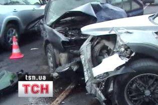 На українських дорогах гине вп'ятеро більше людей, ніж у Європі