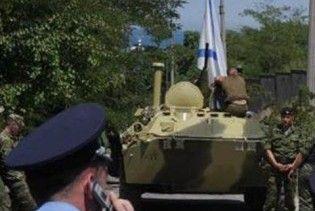 У Севастополі знову затримано вантажівку з російськими ракетами