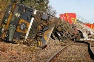 У Канаді товарний потяг з пропаном зійшов з рейок і загорівся