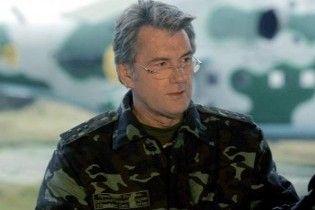 Ющенко: нас не залякати російською зброєю