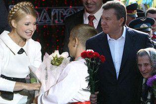 Янукович відривається від Тимошенко у президентських перегонах