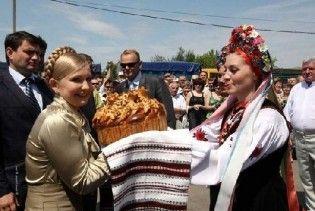 Тимошенко поїхала на буряки