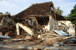 В Індонезії стався потужний землетрус