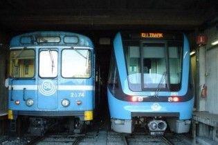 Шведські робочі пробурили метро і пошкодили поїзд