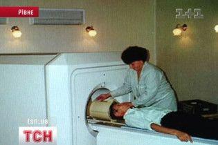 Лікарню Рівного евакуювали через загрозу вибуху томографа