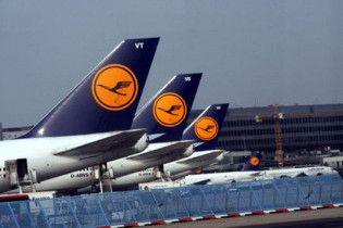 Поломка комп'ютера призвела до затримки більше 2 тисяч рейсів Lufthansa