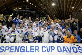 Мінські хокеїсти розбили кубок Шпенглера