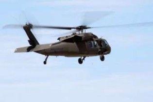 Американський гелікоптер упав на палубу корабля