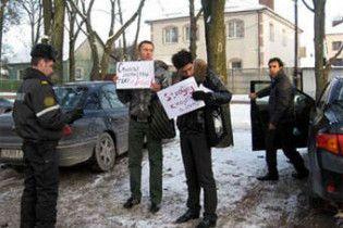 У Мінську розігнали пікет на захист іранських геїв