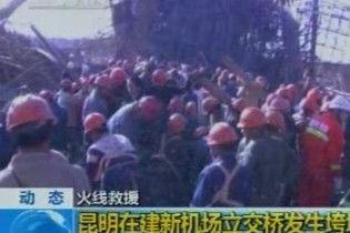 У Китаї при обваленні мосту загинули 7 людей