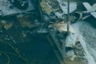 Літак впав посеред вулиці в передмісті Лос-Анджелесу
