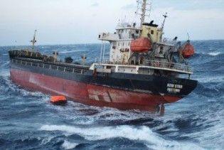 У Чорному морі зазнав аварії суховантаж з українцями на борту
