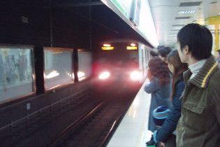 У шанхайському метро зіткнулися два потяги