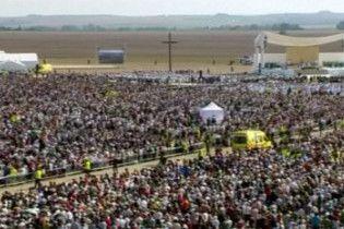 У Чехії на месу Бенедикта ХVI зібралося більше 120 тис. людей