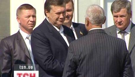 Пристрасті навколо дачі Віктора Януковича