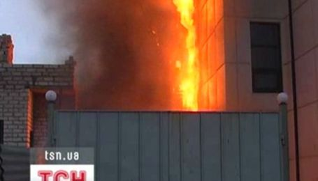 Пожежа у торгівельному комплексі