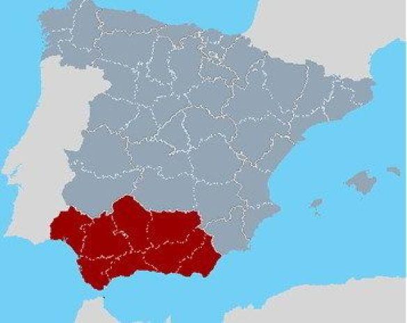Розташування Андалузії (Фото: www.innovating-regions.org)