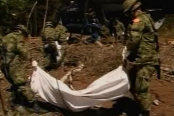 ВПС Колумбії завдали удару по позиціях угруповання FARC