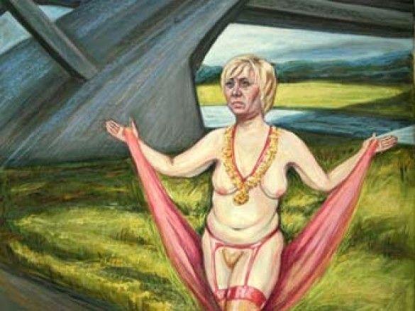 Мер Дрездена заборонила зображувати себе оголеною