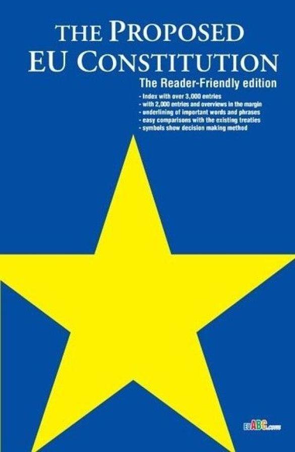 Проект Конституції Євросоюзу (Фото: eubookshop.com)