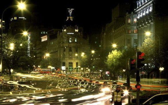 Нічний Мадрид