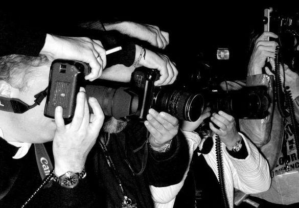 папарацци, фотограф (Фото: berlin-bildergalerie.de)