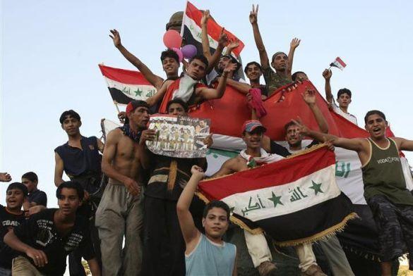 Радість мешкаців Багдаду