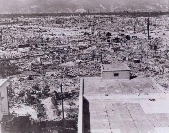 Хіросіма після бомбардування (Фото: Wikipedia)