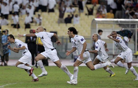 Радість іракських футболістів