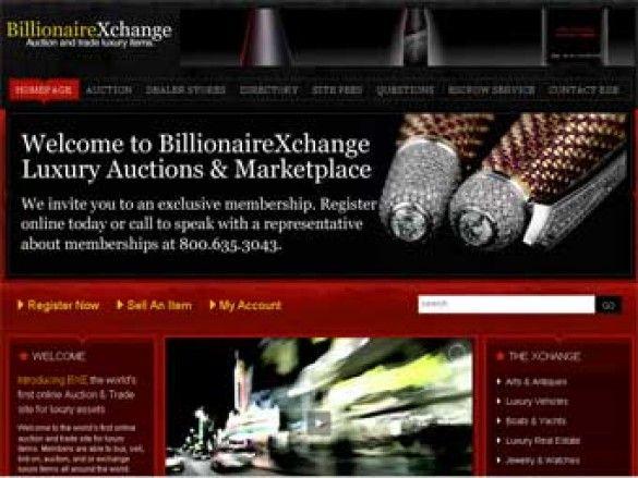 У США запустили інтернет-аукціон для мільярдерів