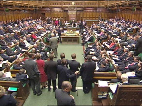 Палата общин британського парламенту