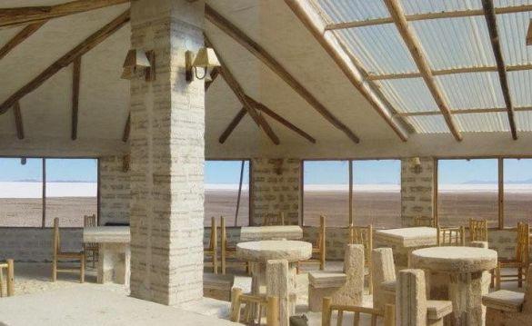 Соляний готель у солончаку Уюні в Болівії (Фото: www.uyuni.com.bo)