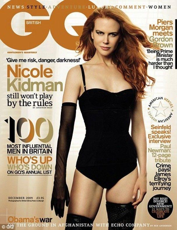 Ніколь Кідман знялась для GQ