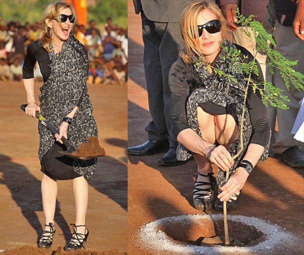 Мадонна відкрила в Африці школу для дівчаток