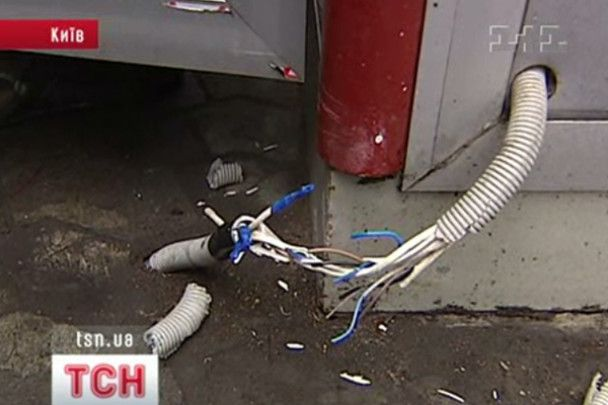 У центрі Києва підприємець влаштував стрілянину, рятуючи свій кіоск