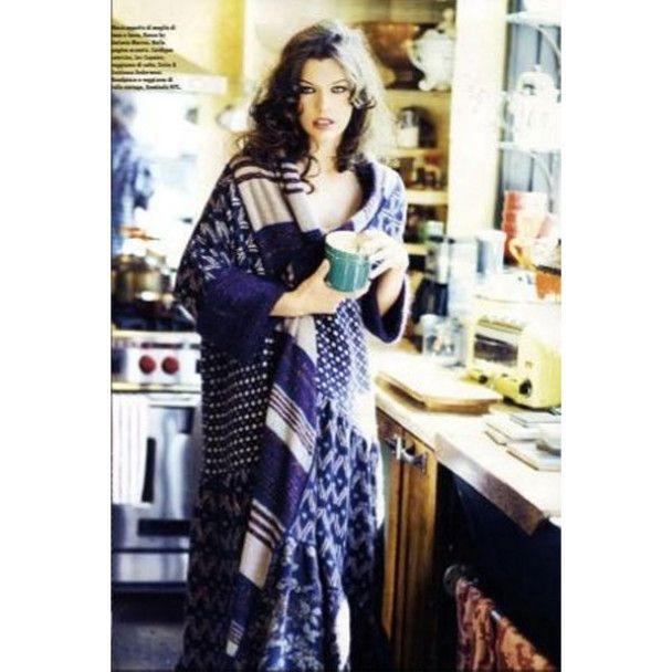 Міла Йовович знялась для італійського Vogue