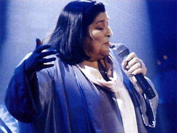 Померла відома фолк-співачка Мерседес Соса