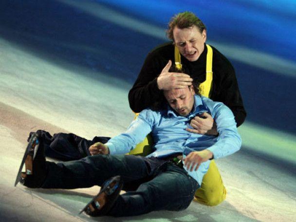 Марат Башаров мало не потонув