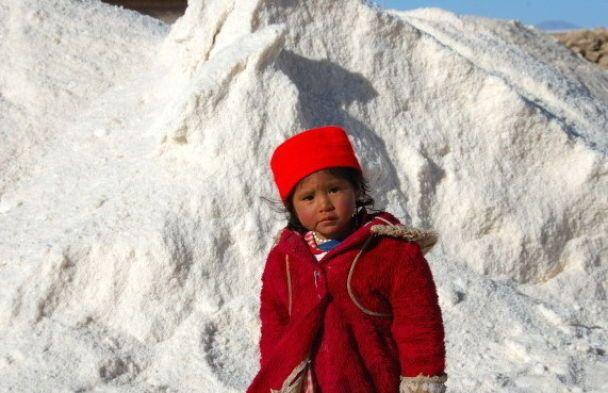 Соляний замок в Андах