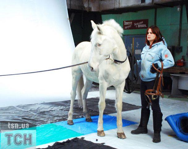 Борис Апрель став блакитнооким конем